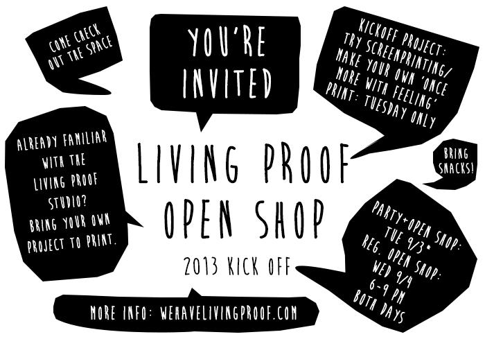 livingproofopenshopkickoff2013