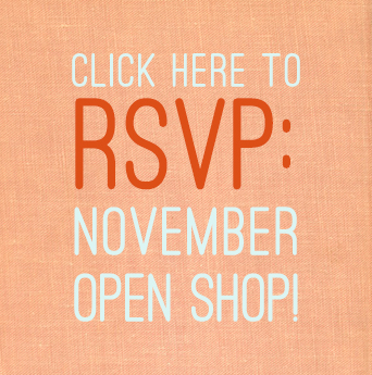 RSVP OPEN SHOP BUTTON
